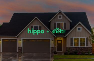 Together Sheltr and Hippo will provide customers with peace of mind through better home insurance and protective home maintenance.